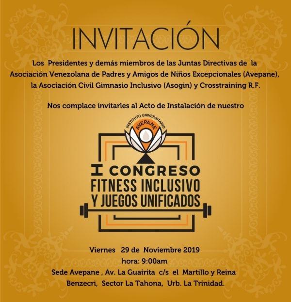 Un congreso donde el fitness y la inclusión son protagonistas