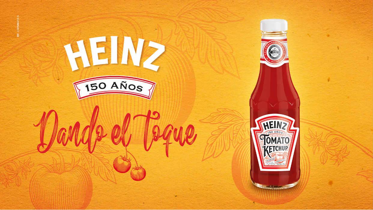 Ketchup Heinz celebra 150 años