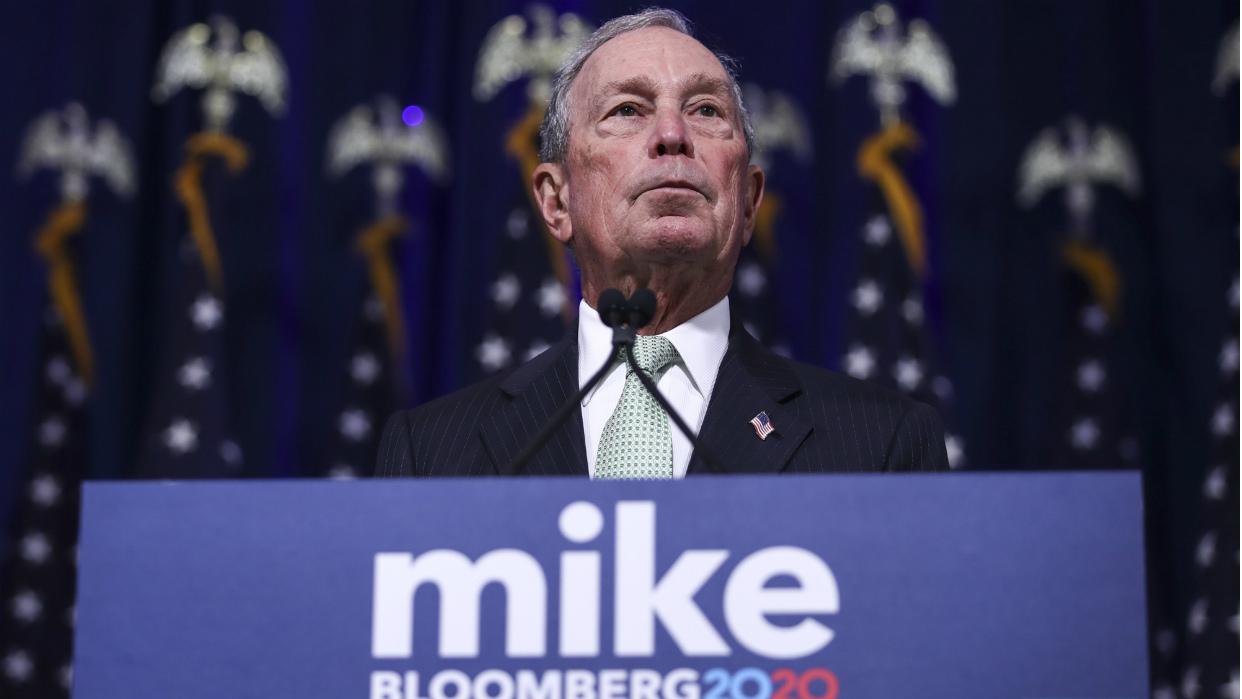 Bloomberg en ascenso en las encuestas participa en su primer debate demócrata