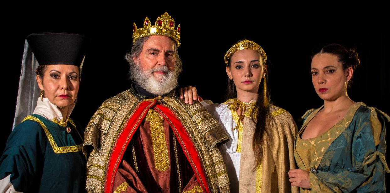 Epifanía con el rey Lear
