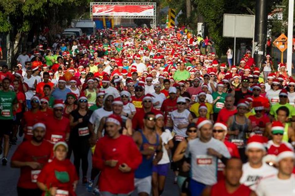 Santa correrá este domingo desde la plaza Alfredo Sadel