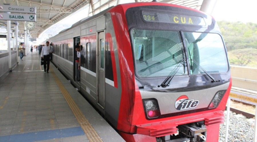 Ferrocarril Caracas-Cúa operará con restricciones este domingo