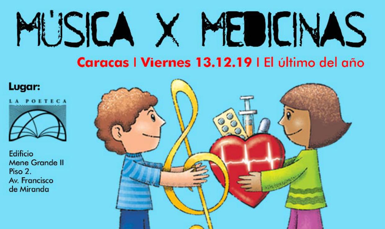 Música X Medicinas vuelve a Caracas