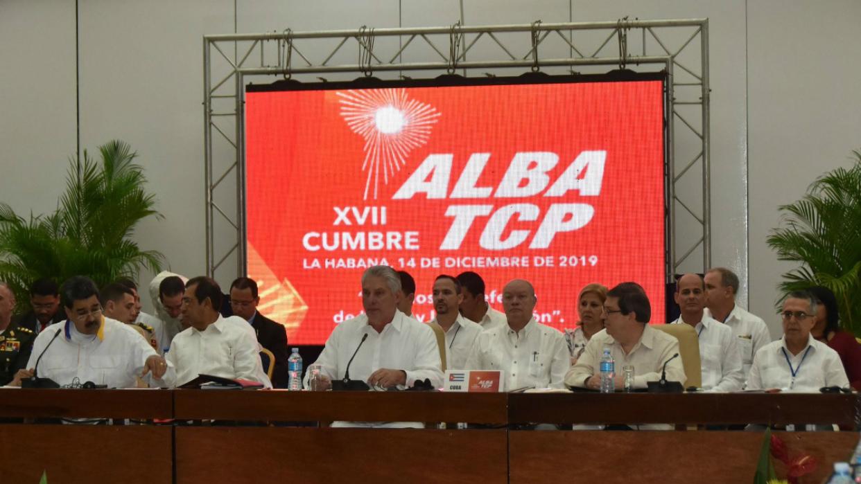 Díaz-Canel, Ortega y Maduro inauguran cumbre del ALBA