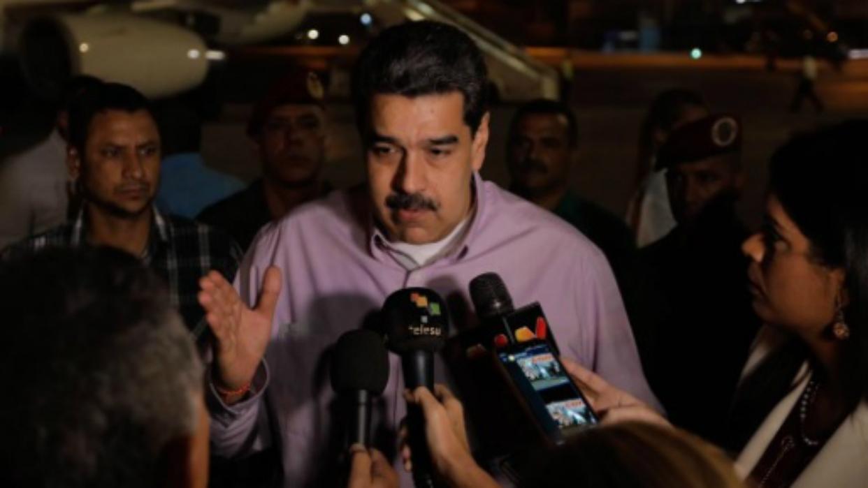 Maduro arribó a Cuba para asistir a la cumbre del ALBA-TCP
