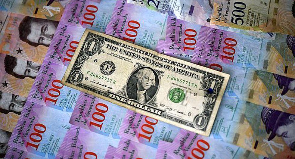 Precio del dólar actual se ubicó en Bs 84.581,04