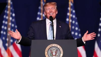 Trump busca con firmeza la reelección