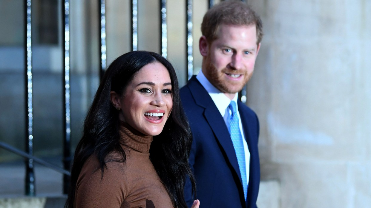Harry y Meghan ante un