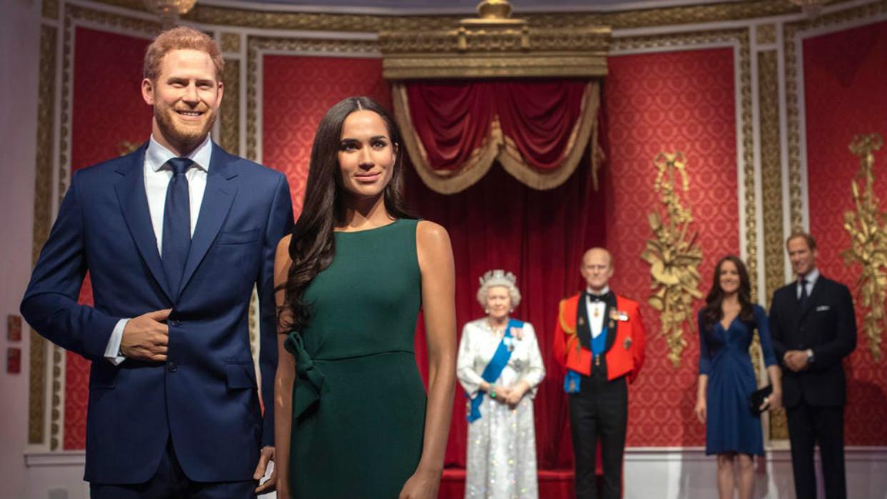 Museo de cera de Londres saca a Enrique y Meghan de la familia real