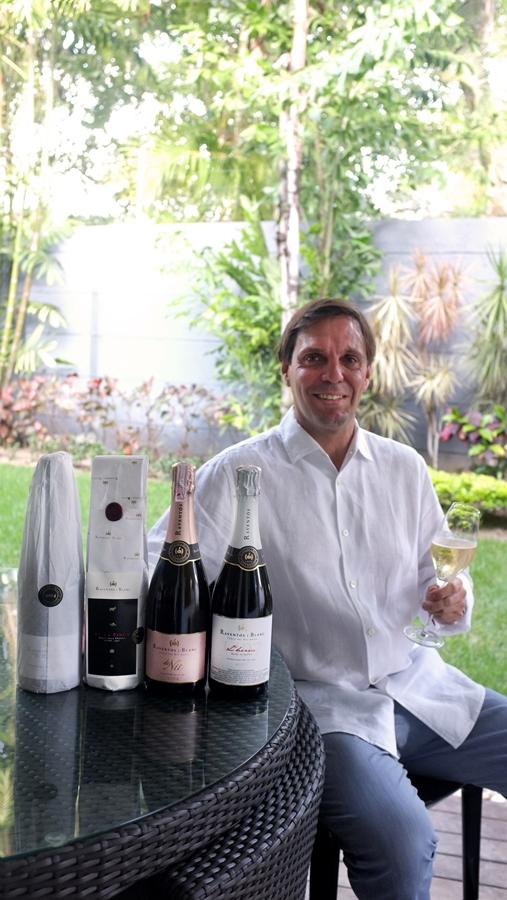Encuentro con un amigo experto en vinos