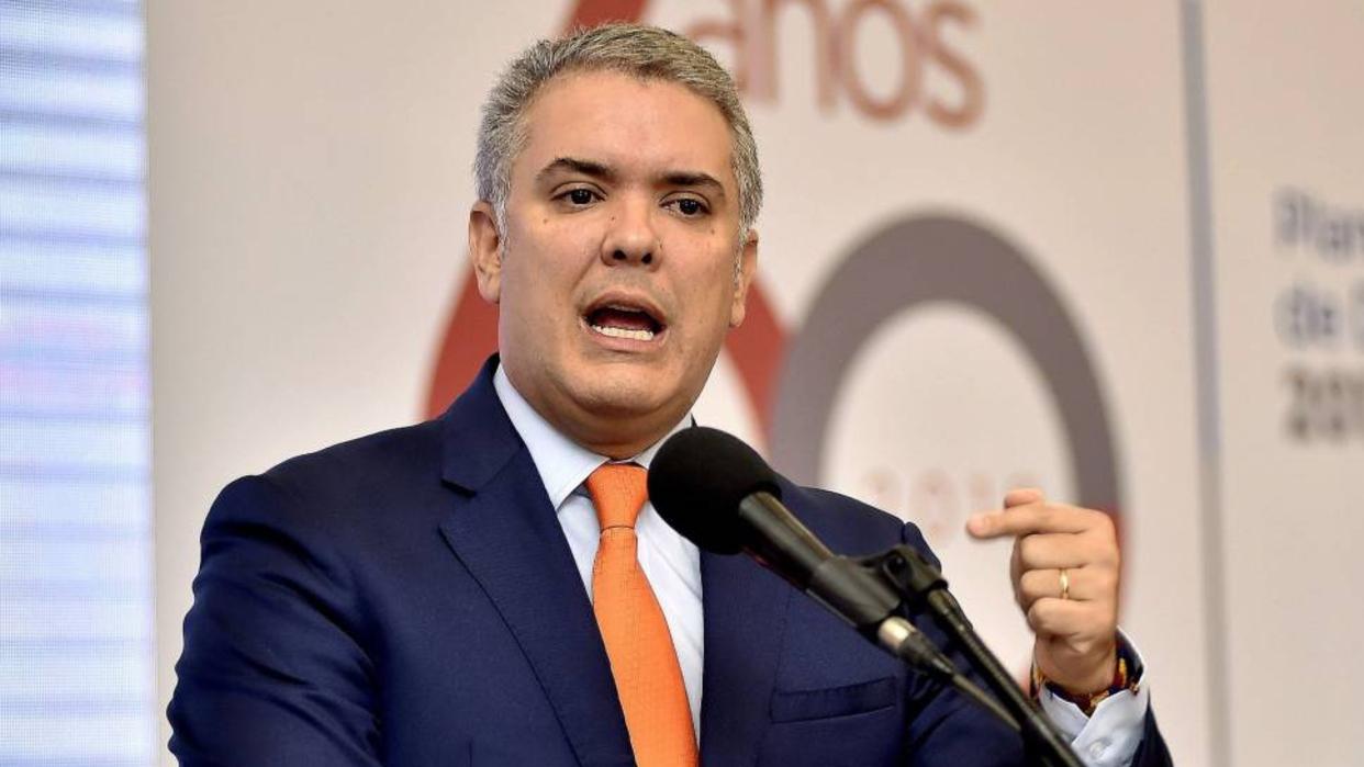 Presidente Duque recibió a Guaidó en Colombia