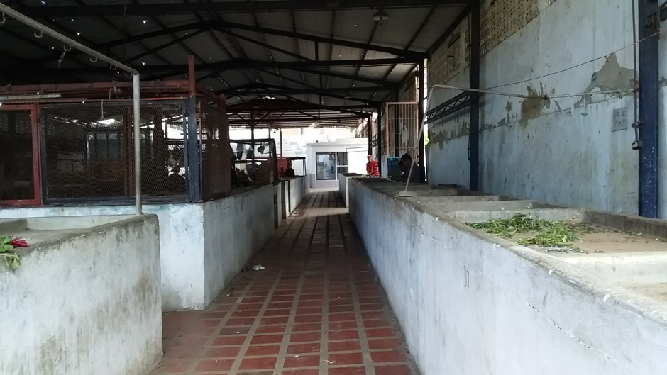 Mercado de Punta de Mulatos se cae a pedazos gracias a la desidia