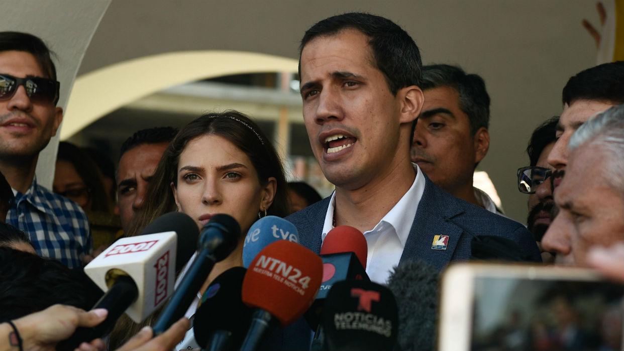 Guaidó asiste a la Cumbre Antiterrorista en Colombia