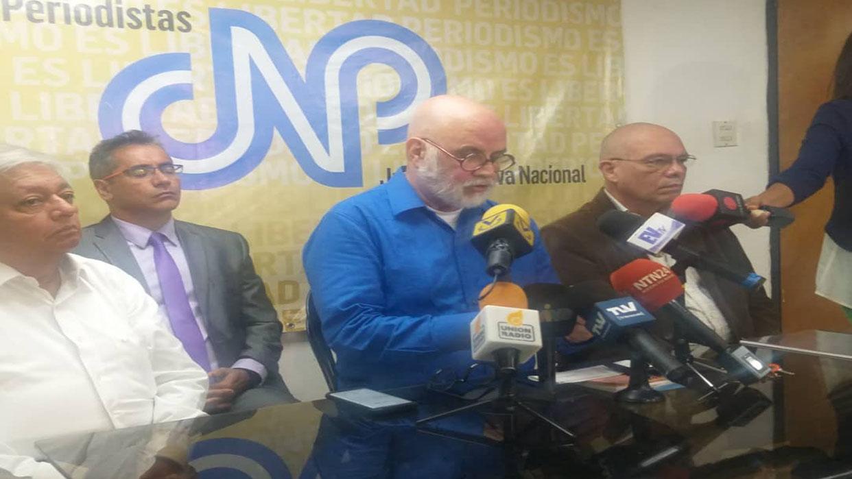 CNP reiteró su rechazo a las agresiones contra periodistas en la AN el 5 de enero