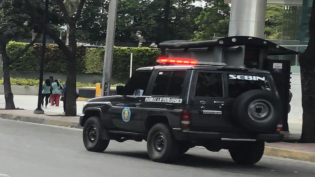 Reportan presencia del Sebin en el despacho de Guaidó