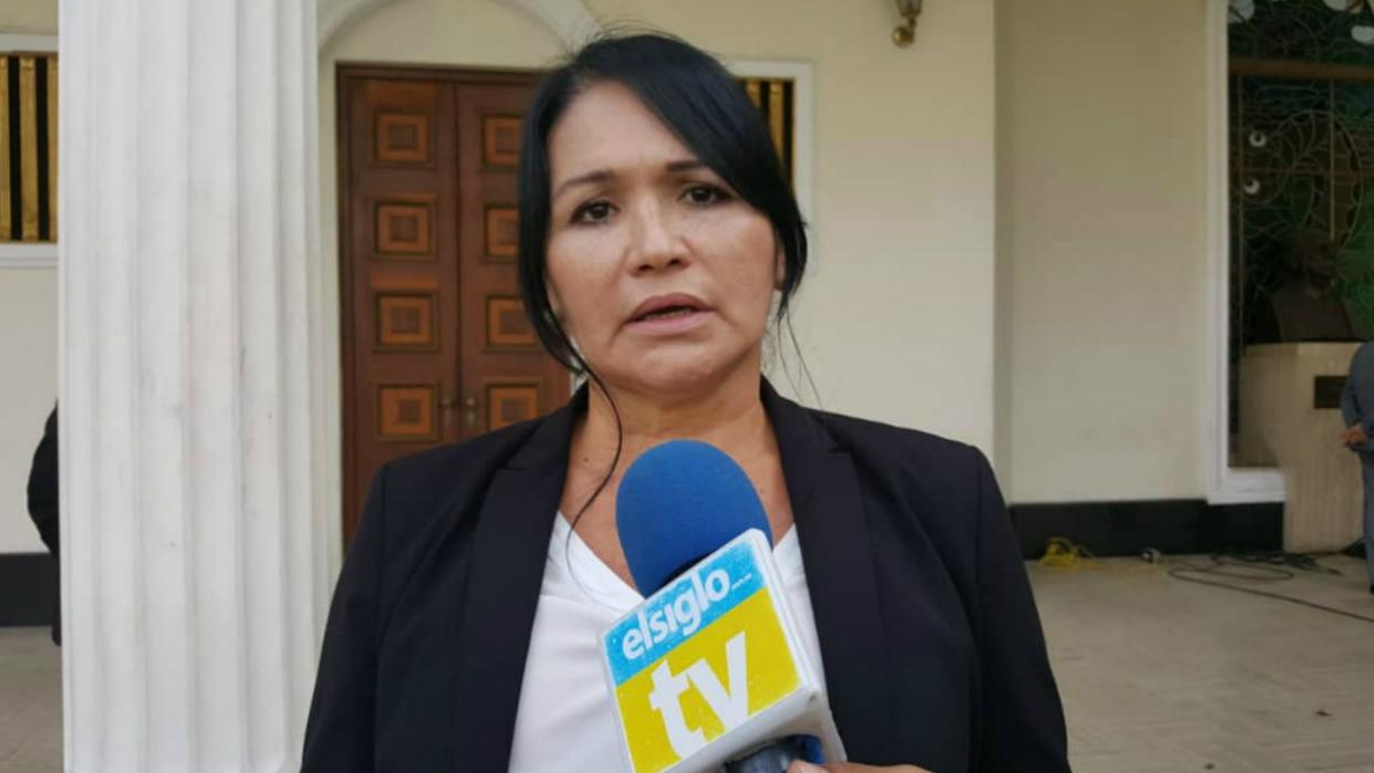 Diputada Melva Paredes rechaza acusaciones en su contra