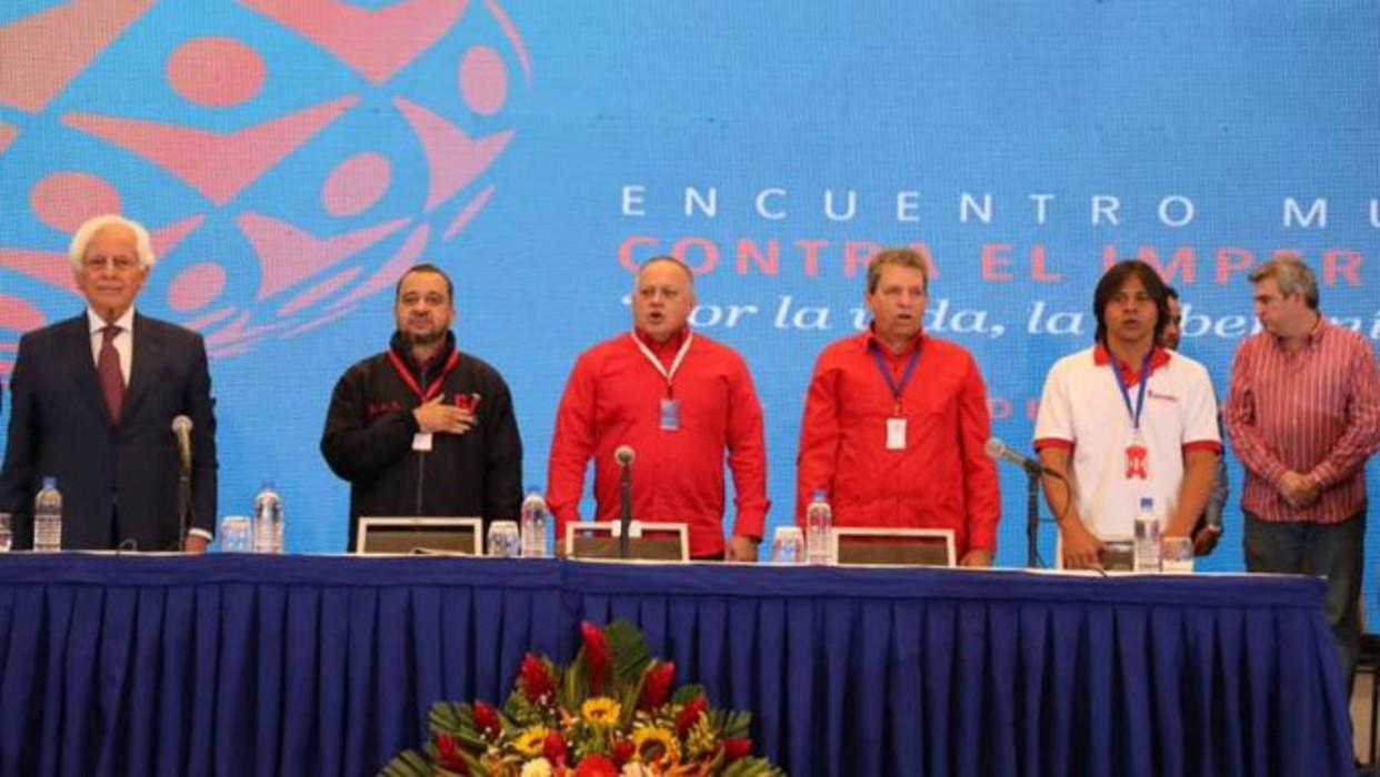 Encuentro Mundial contra el Imperialismo en Caracas rindió homenaje Qassem Soleimani