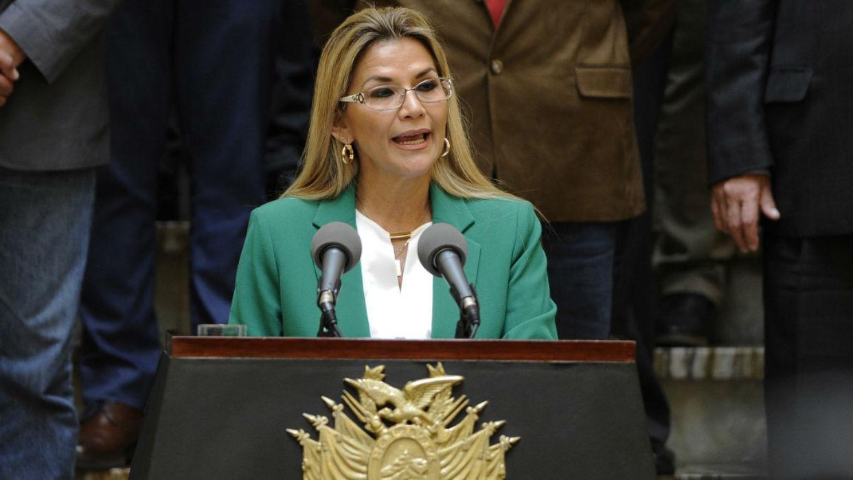 Legislativo boliviano recomienda juicio contra Áñez por violencia de 2019