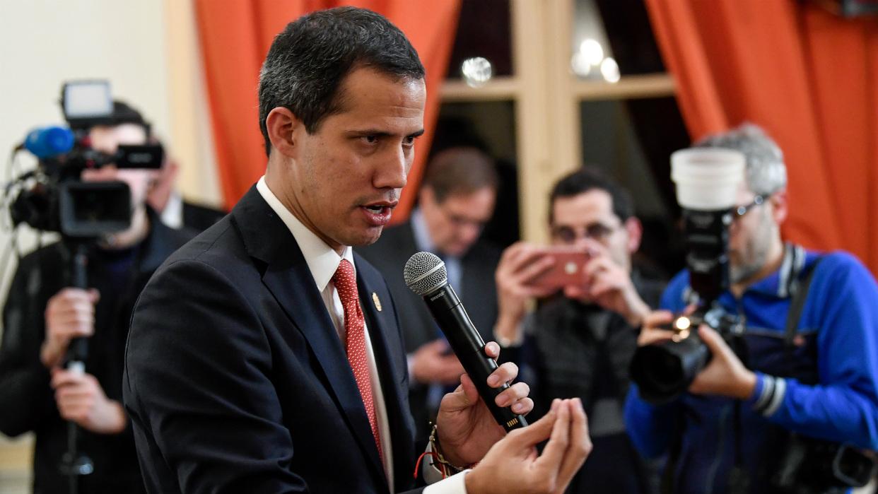 Guaidó, en Francia: Venezuela hoy se parece más a Siria que a Cuba