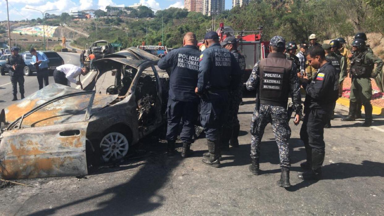 5 muertos y un herido grave deja accidente vial en Barquisimeto