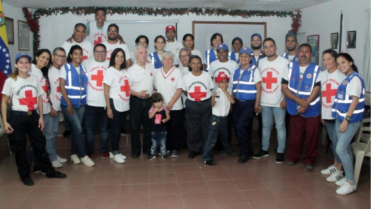 Cruz Roja brindó asistencia humanitaria a más de 300 neoespartanos