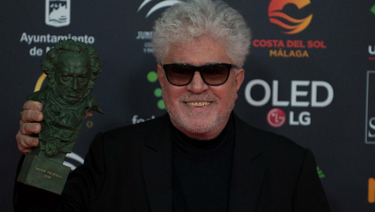Pedro Almodóvar triunfador en los Premios Goya