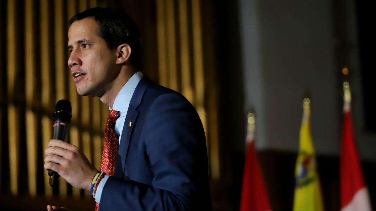 Guaidó sostuvo encuentro con los migrantes venezolanos en Canadá