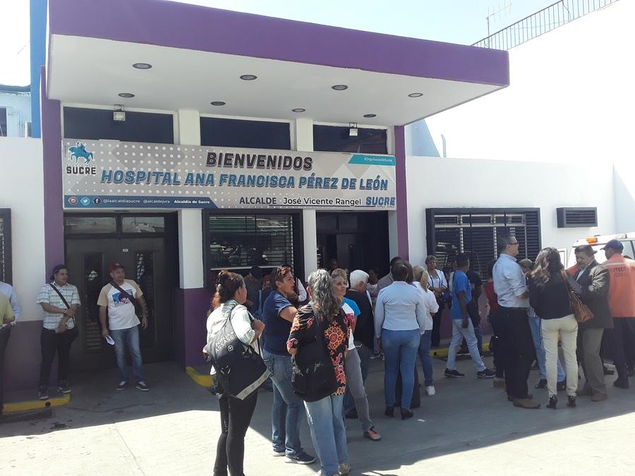 Reinauguran tres áreas del Hospital Pérez de León I