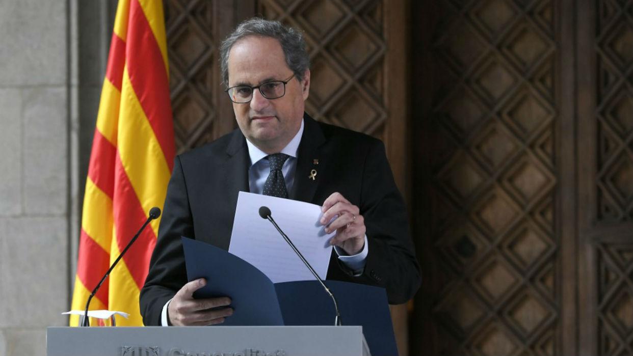 Divorcio entre independentistas lleva a Cataluña a nuevas elecciones