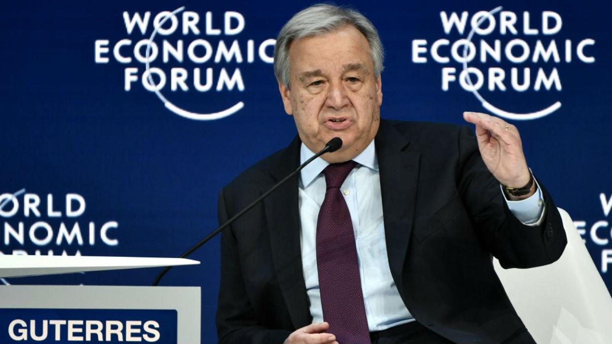 Jefe de la ONU dice que lo peor del virus