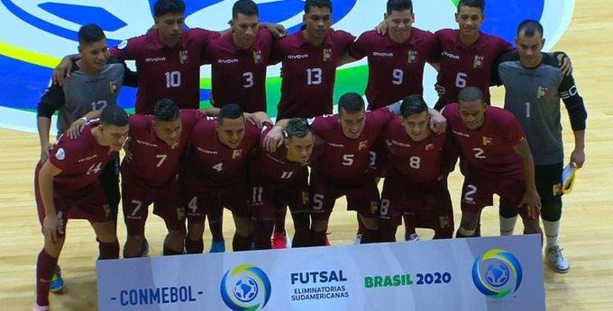 Venezuela se clasifica al Mundial de Fútbol Sala 2020