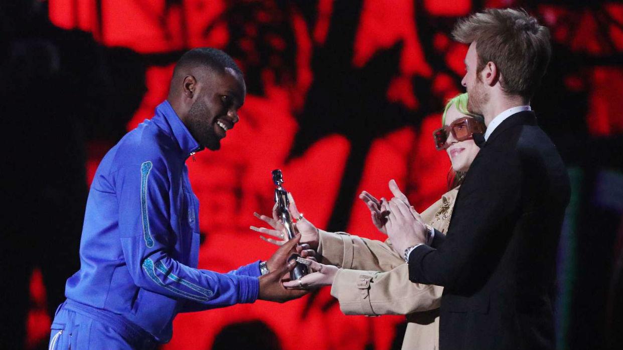 El rapero Dave gana el Brit a mejor álbum del año con