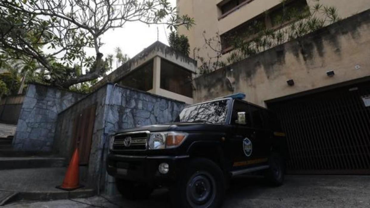 Cuerpos de seguridad allanan la propiedad del tio de Juan Guaidó