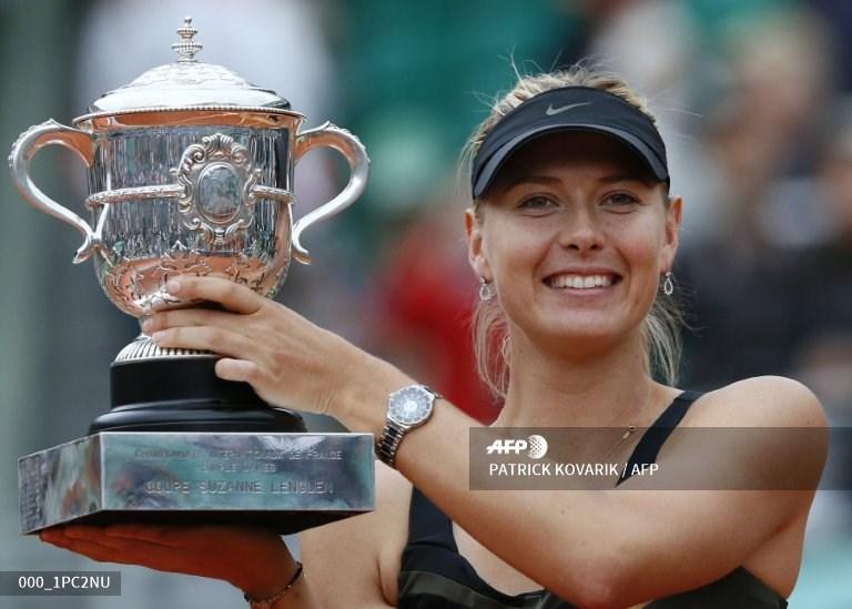 La rusa Maria Sharapova le dice adiós a las canchas a los 32 años