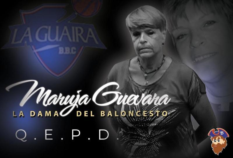 Falleció Maruja Guevara, la dama del baloncesto