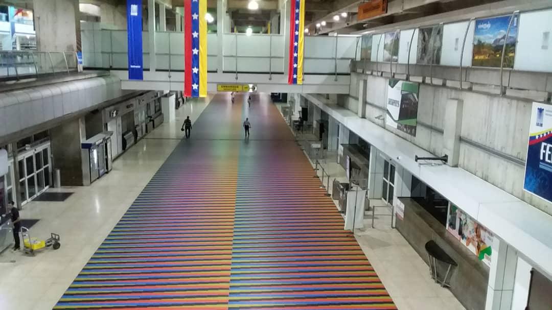 Aeropuerto de Maiquetía se acopla a normativas de la OACI sobre protocolos  de bioseguridad