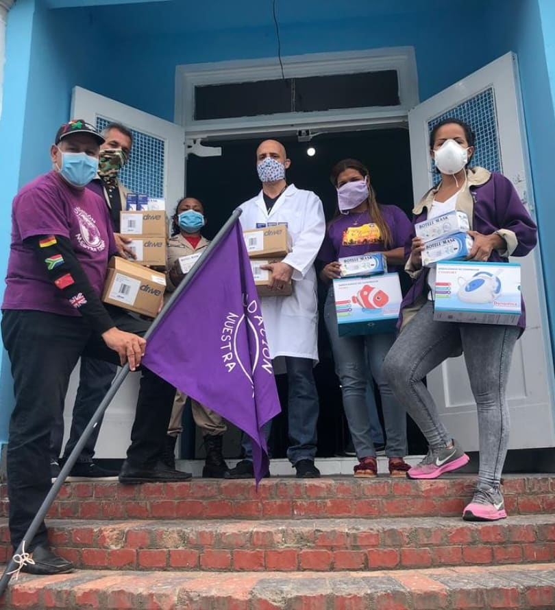 Fundatierra dona insumos médicos al hospital de Caripito
