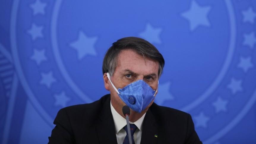 Bolsonaro cuestiona los datos de fallecidos por la pandemia en Sao Paulo