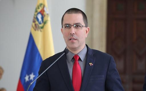 """Jorge Arreaza  rechazó  """"gobierno transicional"""" propuesto por Estados Unidos"""