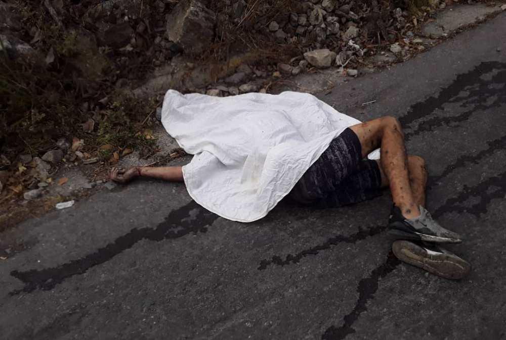 Localizan cadáver de hombre en la entrada de Parque Caiza