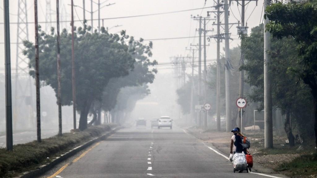 Aire contaminado complica emergencia sanitaria en frontera colombo-venezolana