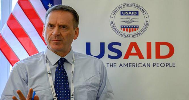 Director de Usaid: Cargamento de insumos que arriban a Venezuela es en parte donación de EEUU