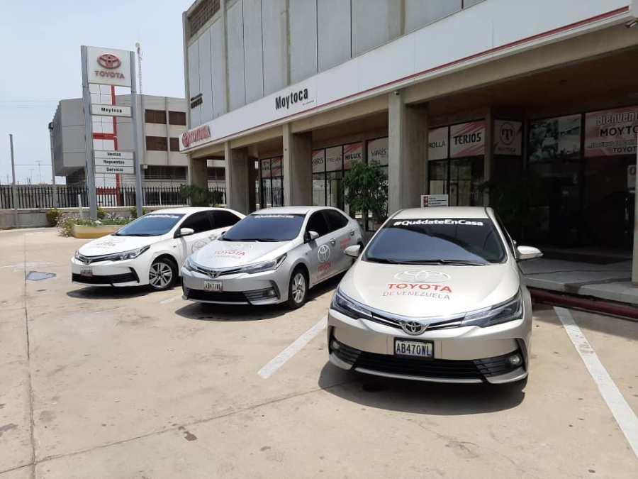 Afirman que Toyota prevé reanudar producción en Venezuela