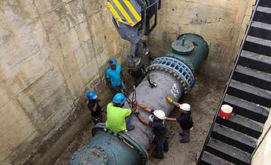 Restablecen servicio de agua en el municipio Baruta, tras avería del Tuy II
