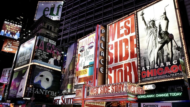 Teatros de Broadway seguirán cerrados al menos hasta enero de 2021