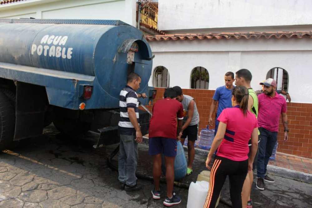 35 comunidades del municipio Carrizal fueron abastecidas con agua