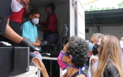 Programa de Farmacias Móviles llegó al municipio Sucre