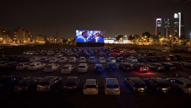 Madrid vuelve al cine al aire libre y al estilo de los cincuenta