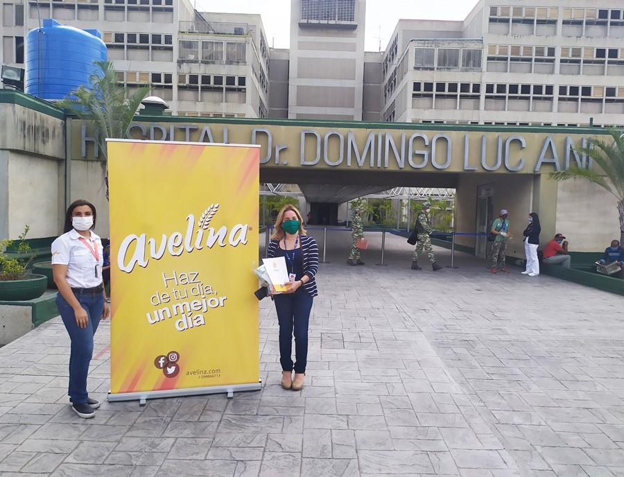 Donativo de Avelina al Hospital Domingo Luciani