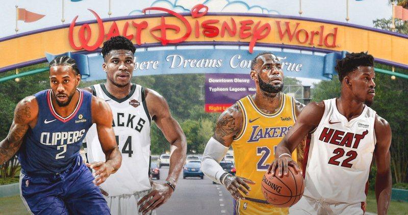 La NBA afina detalles para reiniciar su temporada en Disney World